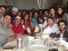 Kapoors And Sons Converge For A Family Picture After Christmas Brunch