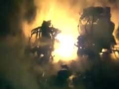 Watch: Over 900 Gas Cylinders Exploded In Karnataka. It Went On For 3 Hours