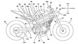 Kawasaki's Electric Motorcycle Patent Images Leaked
