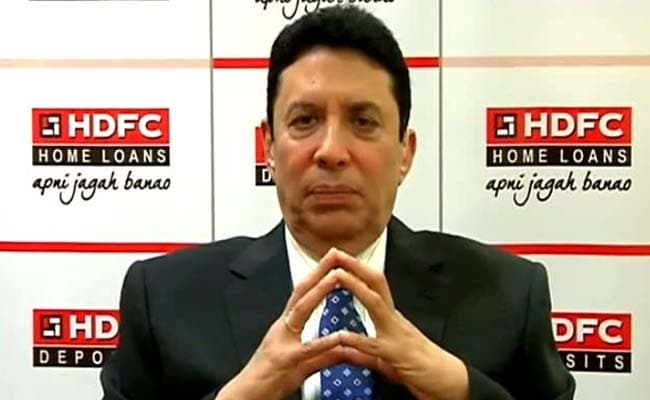 Keki Mistry of HDFC said India has a fundamental need for real estate, especially housing.