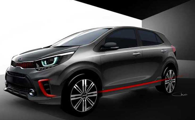 Kia has previewed its third-generation Picanto city auto. Photo: Supplied