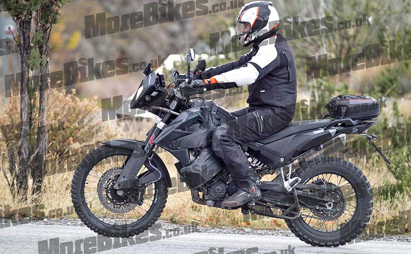 2018 ktm enduro 800 spied testing ndtv carandbike. Black Bedroom Furniture Sets. Home Design Ideas