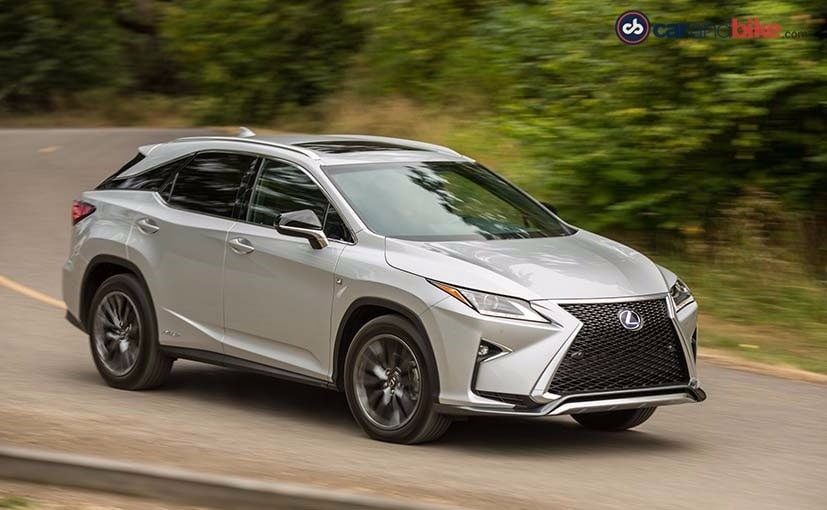 First Drive Lexus RX 450h: The Style Of The Future