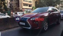 Soon To Be Launched Lexus RX 450h Spotted In India Again