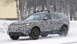 Land Rover's Range Rover Sport Coupe Spotted Testing