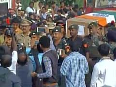 Major Killed In Nagrota Attack Cremated With State Honours