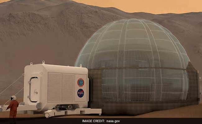 NASA May Build U0027Ice Homeu0027 Design For Future Mars Explorers