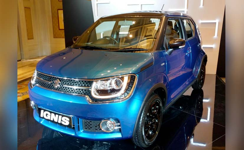Maruti Suzuki Ignis Showcased In India; Launch Date, Features And More