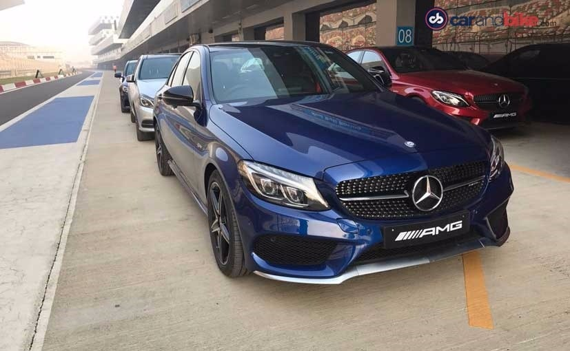 mercedes amg c 43 front