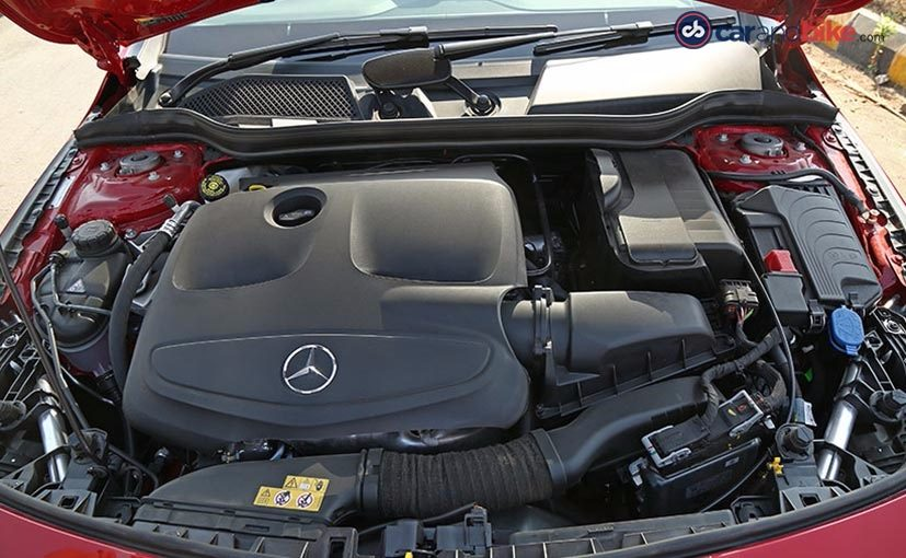Mercedes-Benz CLA 200 Engine