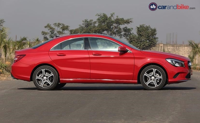 Mercedes-Benz CLA Facelift Profile