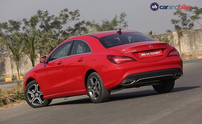 Mercedes-Benz CLA Facelift Rear Quarter