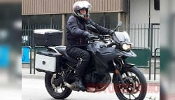 BMW GS With Parallel-Twin Engine Spied