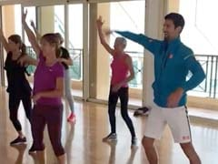 Novak Djokovic's 'Hips Don't Lie' Video From Dance Class He Crashed