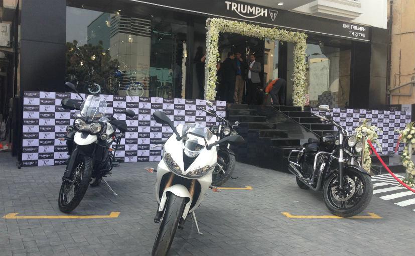one triumph dealership in delhi