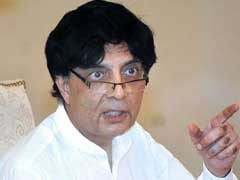 Offered To Quit After Report On Failure To Combat Terror: Pak Interior Minister