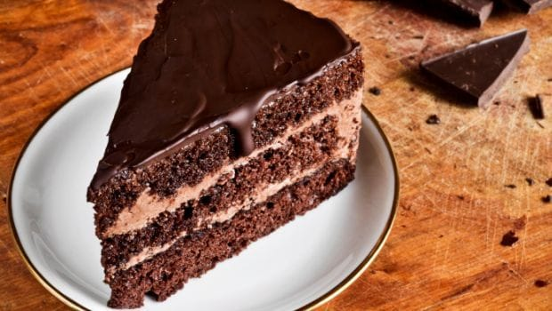Layer Chocolate Cake With Sour Cream
