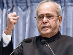 India May Face Unrest, Frustration If Youths Are Jobless: President Pranab Mukherjee