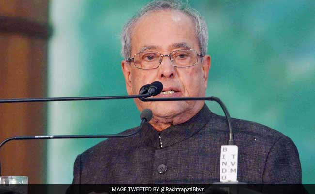 President Pranab Mukherjee Stresses On Clean, Renewable Energy To Meet Power Demand