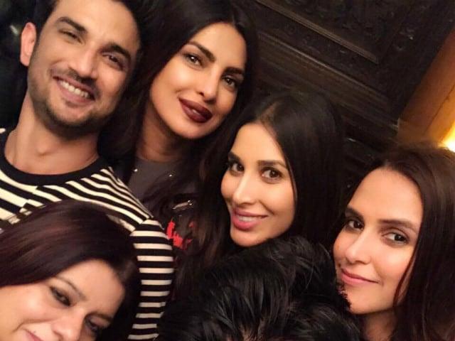 Inside Priyanka Chopra's Party Night With Manish Malhotra. See Pics