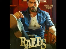 Shah Rukh Khan Shares Raees New Poster. Can't. Keep. Calm