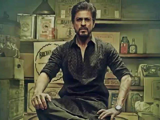 Shah Rukh Khan Shares Raees New Poster. Can't. Keep. Calm