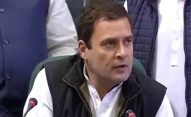 'Read My Lips, PM Personally Terrified Of My Info,' Says Rahul Gandhi