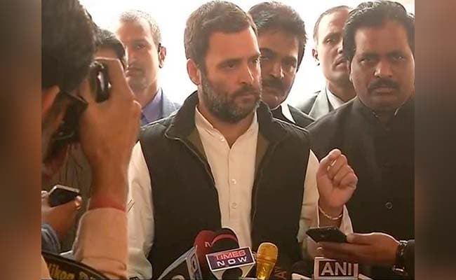 Natural disaster will come if I speak in Parliament: Rahul Gandhi