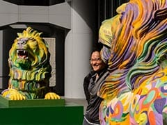 HSBC's Rainbow Lion Statues In Hong Kong Slammed By Anti-Gay Groups