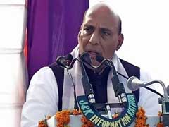 Pak Conspiring To Divide India On Religious Lines, Says Rajnath Singh