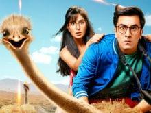 <i>Jagga Jasoos</i> Poster: Ranbir Kapoor, Katrina Kaif And Umm, Ostrich?