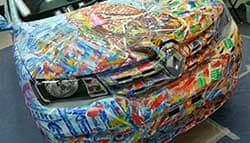 Renault Does A BMW With Kwid Art Car