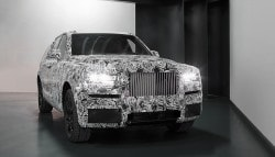 Rolls-Royce Project Cullinan SUV Prototype Revealed