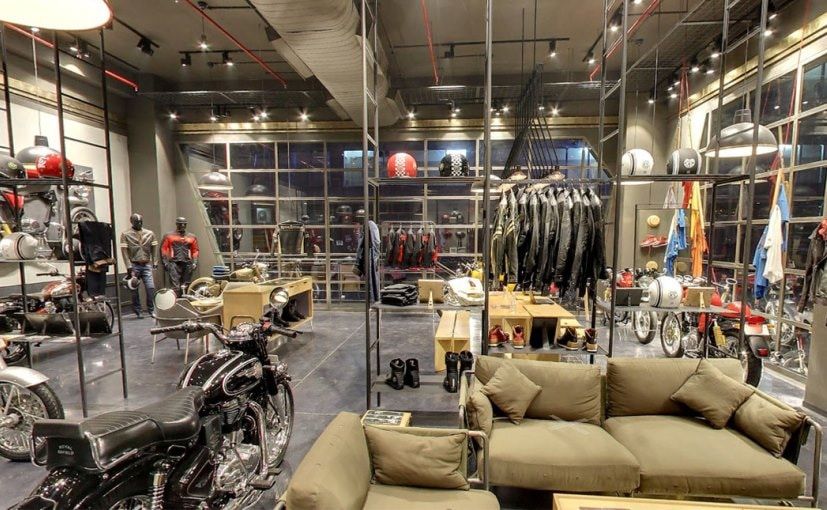 Royal Enfield Opens First Exclusive Brand Store In