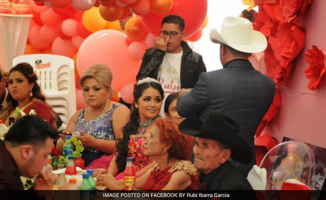 Thousands Attend Mexican Teen's Birthday Party After