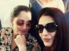 Tabu Bumped Into Sania Mirza, Shared This Lovely Post About Their Meeting