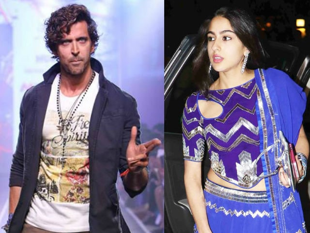 Sara Ali Khan, Saif's 23-Year-Old Daughter, May Debut With Hrithik Roshan, 42