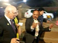 Just A Walk, No Formal Meet Between Ajit Doval, Pak PM Advisor Sartaj Aziz: Officials