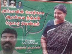 As AIADMK Urges Sasikala Natarajan To Lead, Curious Posters Make Her Case