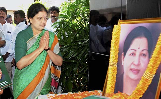 Don't Let Enemies Exploit Jayalalithaa's Death: Sasikala To AIADMK