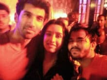 Shraddha Kapoor, Aditya Roy Kapur Celebrate OK Jaanu Wrap With A Bash