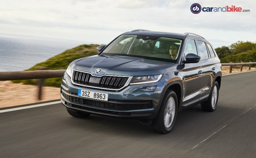 Dealers Now Accepting New Skoda Kodiaq Suv Bookings Ndtv