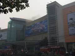 Fire Breaks Out At Kolkata's South City Mall