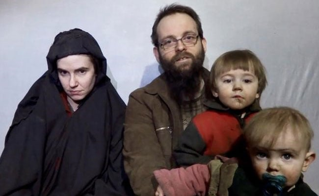 Video appears to show couple kidnapped in Afghanistan 4 years ago