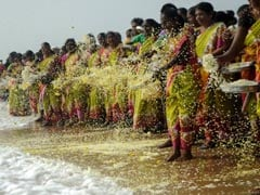 Hundreds Pay Homage To 2004 Tsunami Victims In Tamil Nadu