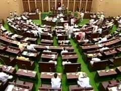 BJP Legislators Suspended From Telangana Assembly