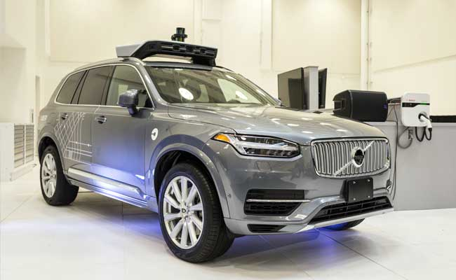 uber self driving cars hit the streets of san francisco. Black Bedroom Furniture Sets. Home Design Ideas