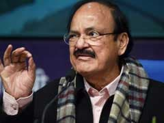 Minister Venkaiah Naidu Faces Opposition Anger In Rajya Sabha