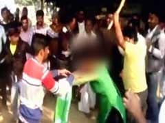 In Video, Woman Who Protested Groping Beaten Mercilessly In Crowded Market In UP's Mainpuri