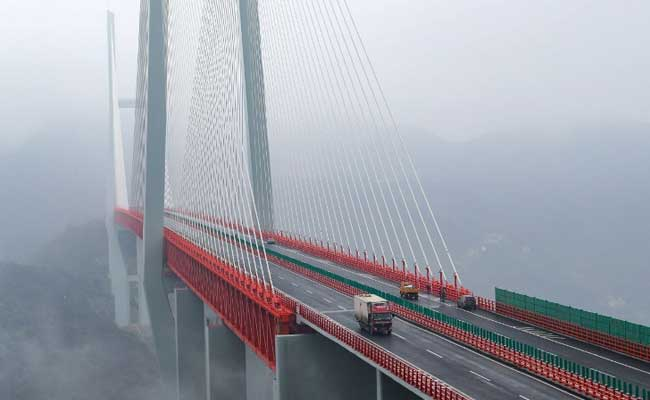World's Highest Bridge in China Opens To Traffic